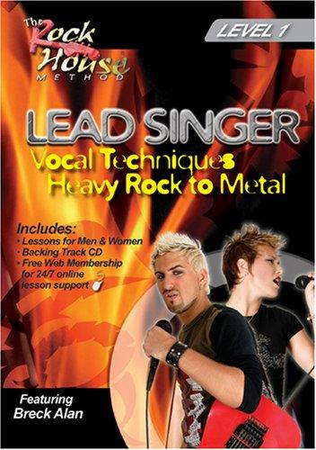 Breck Alan, Lead Singer Vocal Techniques Heavy Rock to Metal Level 1