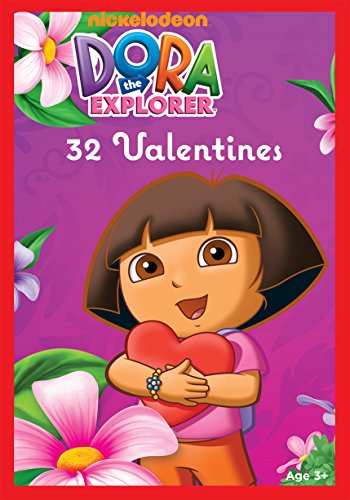 Paper Magic 32CT Showcase Dora the Explorer Kids Classroom Valentine Exchange Cards