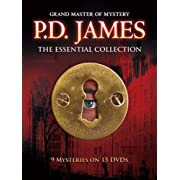 AMAZON-P.D. James: The Essential Collection (15 DVD) $47.99