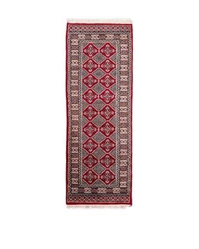 Navaei & Co. Teppich Kashmir rot/mehrfarbig 180 x 64 cm