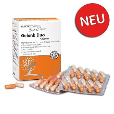 Gelenk Duo Kapseln | Glucosamin | Chondroitin | Nahrungsergänzung | Knochen und Gelenke