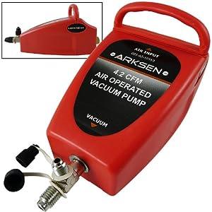 Amazon.com: Air Operated Vacuum Pump 4.2CFM AC Refrigerant/Freon