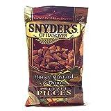 Snyder's of Hanover Honey Mustard & Onion Pretzel Pieces 8 oz ( 2 Pack)