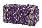 Vera Bradley Large Duffel Bag in Simply Violet