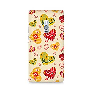 Ebby Love Abstract Premium Printed Case For OnePlus Two