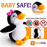 Stuffed Penguin - Plush Animal Thats Suitable For Babies and Children - 5 Inches Tall