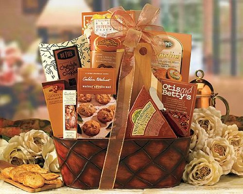Send Fresh Cut Flowers - Thinking of You Mixed Gift Basket