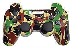 Digital Gaming World's PS3 Wireless Controller For Sony PS3 Console(Camouflage Limited Edition 3), Compatible/Generic.