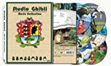 Deluxe Studio Ghibli Movie Collection; Slip Cover, 6 Discs, 17 Movies All With English & Japanese Language Tracks, Optional on/off English Subtitles