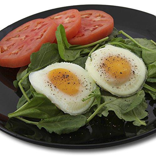 Silicone egg poacher 4 pack egg cups cookware for Decor 4 egg poacher