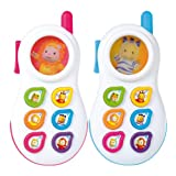 Smoby Cotoons Talking Phone, Multi Color (English/Russian/Chi...