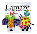 EZ Life Ez Life Lamaze Wrist Rattle Lime Green Lady Bird