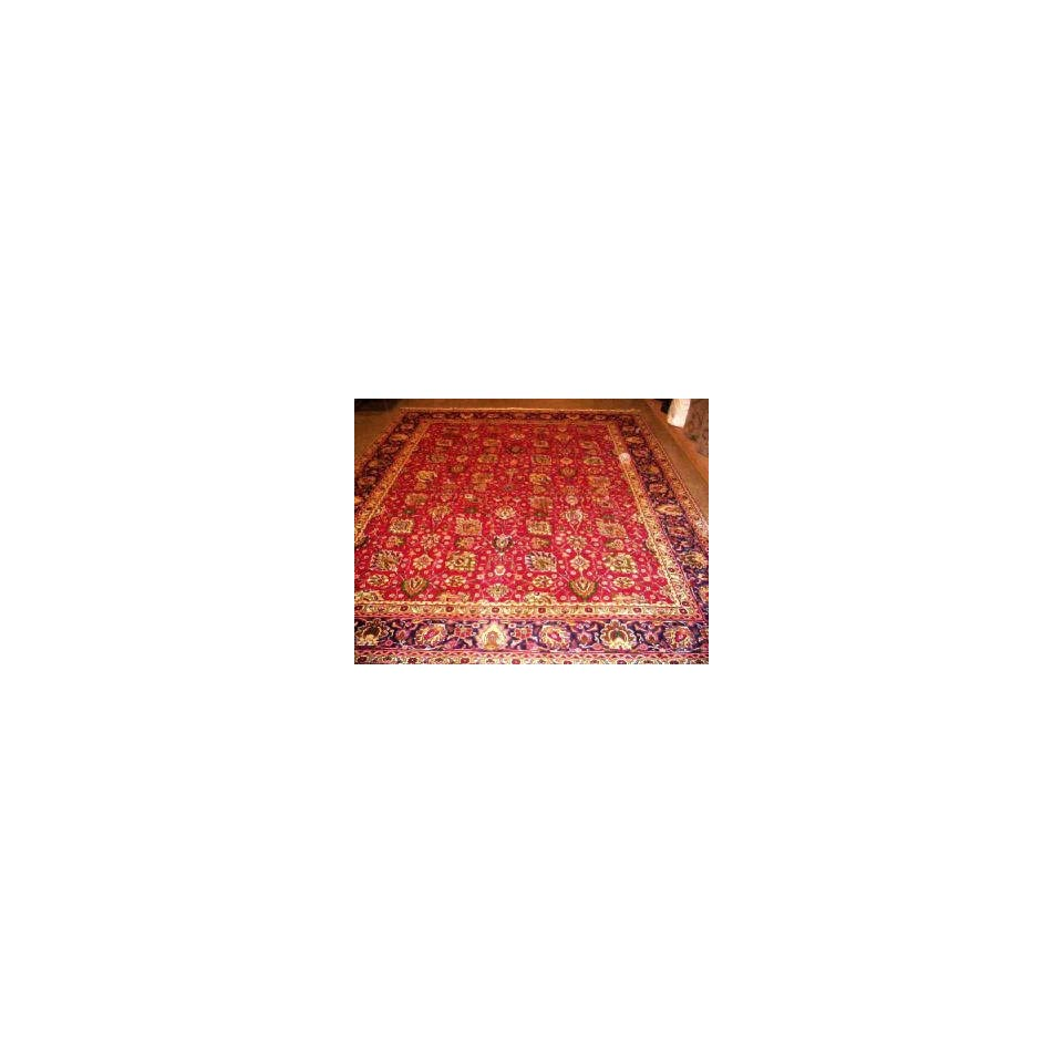 9x12 Hand Knotted Tabriz Persian Rug   129x98