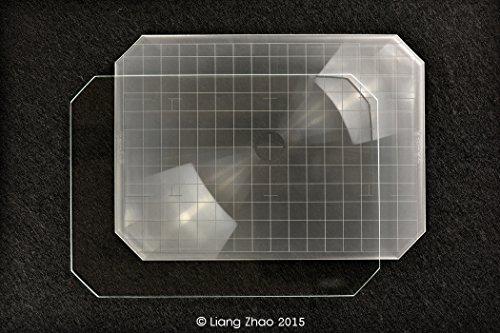 Yanke I57-S1 Intenscreen (Type B) pour verre Sinar F1 P1 5 x 7; caméras 174.0 x 123.0 x 1 mm