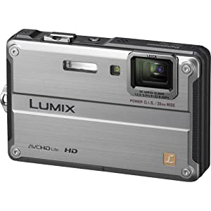 Panasonic Lumix DMC-TS2 14.1 MP Waterproof Digital Camera with 4.6x Optical Image Stabilized Zoom with 2.7-Inch LCD (Silver)