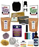 KKamp Continuous Brew Kombucha COMPLETE PACKAGE - Black w/ Stand + Year Round Heater