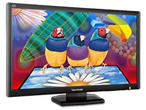 Viewsonic's VA2703 27-Inch Full HD 1080p Widescreen LCD Monitor - Black