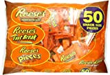 Reeses Snack Size Assortment (Reeses, Reeses Pieces & Reeses Fast Break), 50 Piece