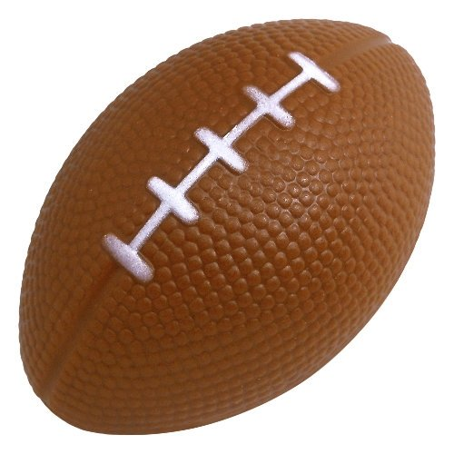 Football Stress Ball - 3 inch, Brown