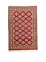 QURAMA Alfombra Kashmir Rojo/Multicolor 122 x 80 cm