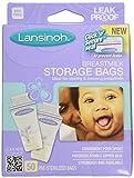 Lansinoh Breast Milk Storage Bags (100 ct)