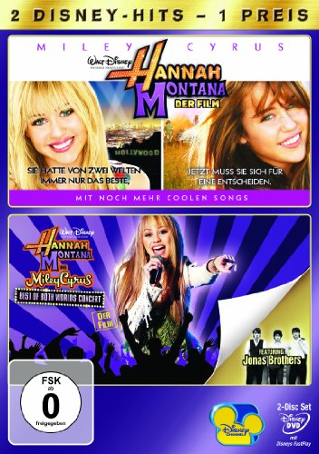 Hannah Montana: Der Film / Hannah Montana und Miley Cyrus - Best Of Both World [2 DVDs]