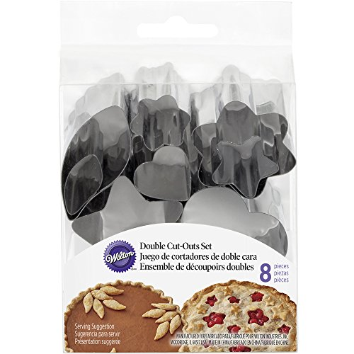 Wilton Double Cut Out Pie Crust Cutters (Pie Cutouts compare prices)