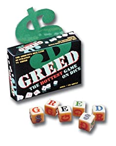 TDC Games 2300 Greed Dice Game