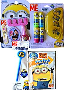 Amazon.com: Minions Movie Exclusive Cosmetic Gift Set Nail ...