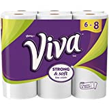 Viva Paper Towels, Choose-a-Sheet, Big Roll, 6 Count (Pack of 4)