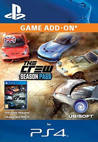 The Crew Season Pass Online Code (PS4)