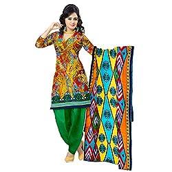Aagaman Fashion Blended Cotton Unstitched Salwar Suit (TSSTVDSK5016_Multi)