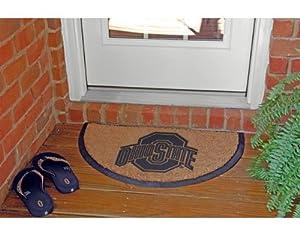 Buy Memory Company Ohio State Buckeyes Half Moon Door Mat by The Memory Company