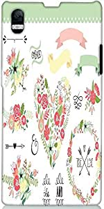Snoogg Wedding Graphic Set Designer Protective Back Case Cover For Sony Xperi...