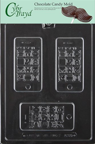 Cybrtrayd-M235-Smartphone-Miscellaneous-Chocolate-Candy-Mold