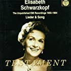 Unpublished Emi Recordings 1955-64: Lieder & Song