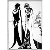 John and Salome, by Aubrey Beardsley (V&A Custom Print)