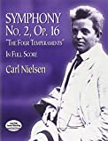"Symphony No. 2, OP. 16, ""The Four Temperaments"" in Full Score (0486418979) by Nielsen, Carl"