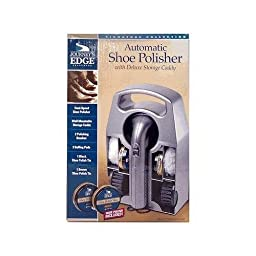 Shoe Shine Shoe Polisher Set Automatic Handheld with Deluxe Storage Caddy