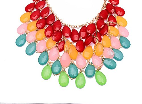 Girl Era Peacock Multilayer Drop Fashion Jewelry Unique Charm Necklace For Womens