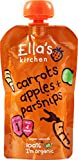 Ella's Kitchen Organic Carrot, Apple, Parsnip 120g x 7