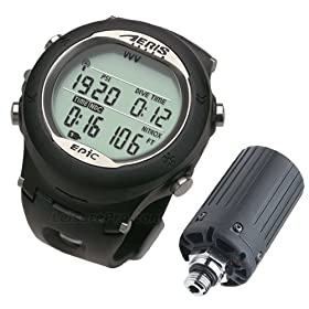 AERIS Epic Hoseless Dive Computer Watch (Complete System) with PC Cable