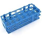 Teal Blue Plastic 21 Holes Box Rack Holder for 50ML Centrifuge Tubes