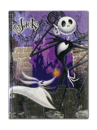 Disney Nightmare Before Christmas Jack Diary