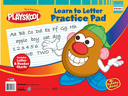 Playskool ABC Learn To Letter Pad (Preschool Drawing Paper compare prices)