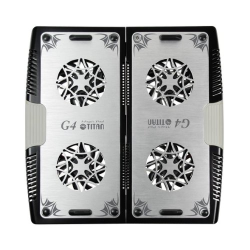 4ファン搭載ノートパソコン用クーラーパッドTTC-G4TZ?