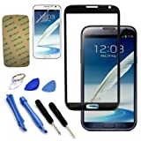 Original Replace Screen Outer Glass Lens for Samsung Galaxy Note 2 N7100 Black by Original Replace Screen Outer Glass Lens for Samsung Galaxy Note 2 N7100 Black