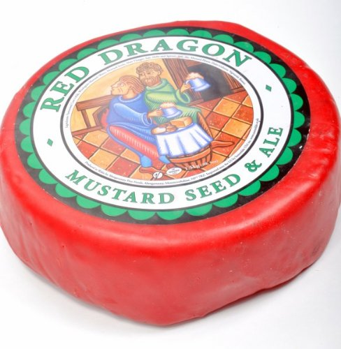 Red Dragon Cheese (Whole Wheel) Approximately 3 Lbs