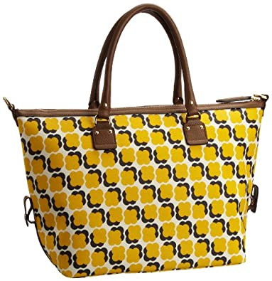 Orla Kiely Women's Tilly Shoulder Bag Sun Yellow 13SBFFL054