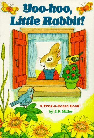 yoo-hoo-little-rabbit-a-peek-a-board-book-peek-a-boo-books-by-jp-miller-1-feb-1989-board-book